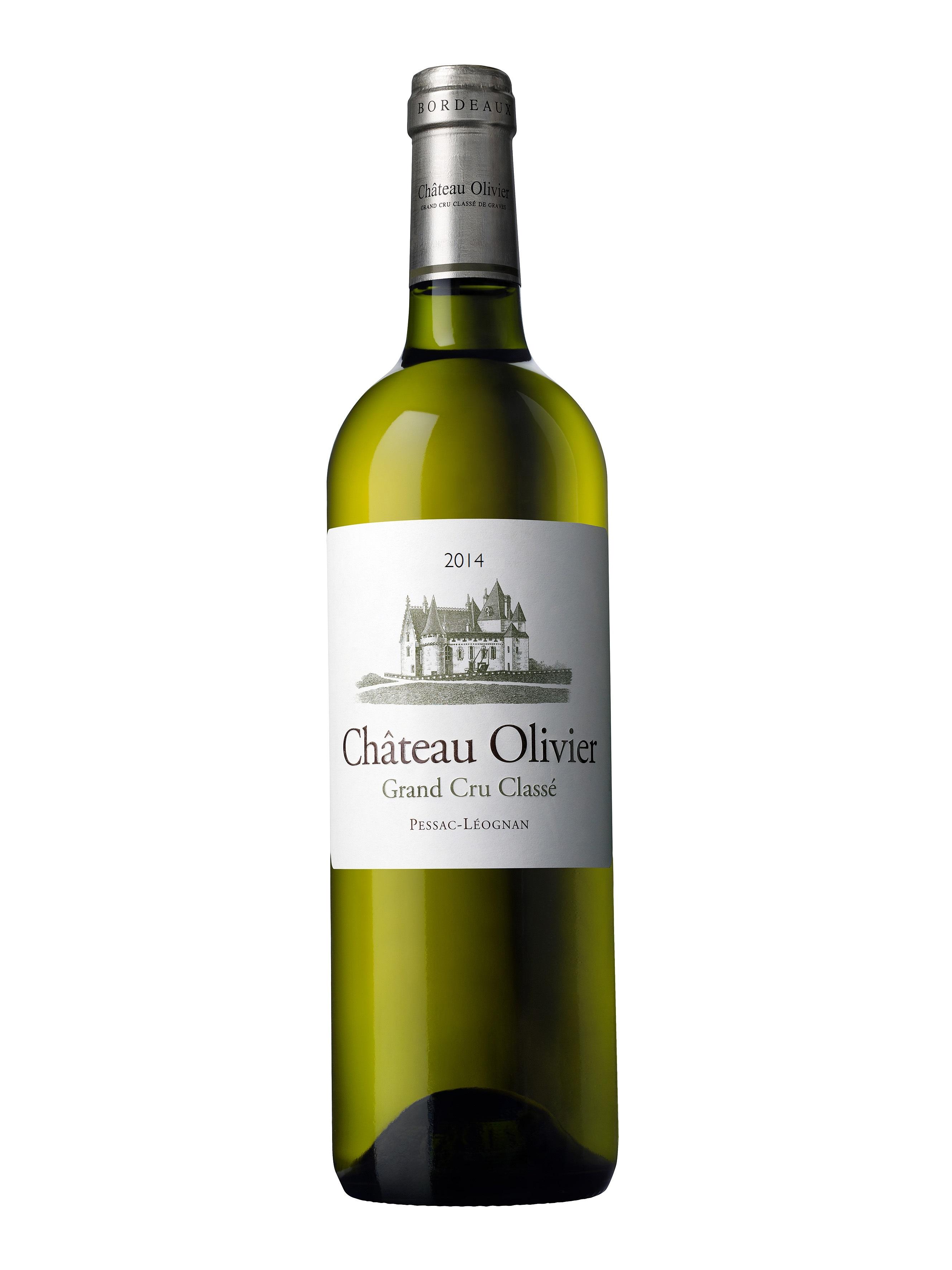 Ch teau olivier white grand cru class de graves pessac for Chateau olivier